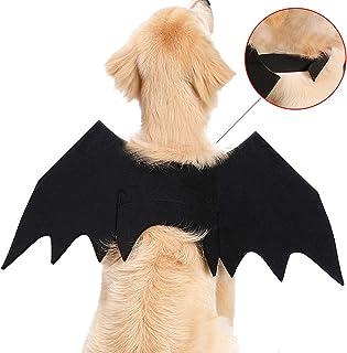 Halloween Pet Bat Wings Cat Dog Bat Hero Costume Pet Cat Bat Wings for Halloween Party Cosplay Decoration for Cat Dogs Pup...