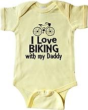inktastic I Love Biking with Daddy Infant Creeper