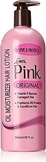pink oil moisturiser