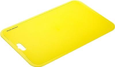 DELISH KITCHEN パール金属 シートまな板 イエロー 縦32.5×横21×厚さ2cm 食器洗い乾燥機対応 中 CC-1354