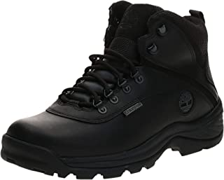 Timberland Men's White Ledge Mid Waterproof Ankle Boot,Black,9 W US