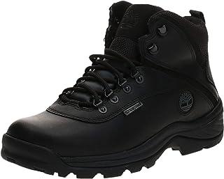 Men's White Ledge Mid Waterproof Ankle Boot,Black,9 W US