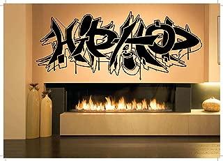 Wall Room Decor Art Vinyl Sticker Mural Decal Hip-Hop Graffiti Sign Large AS1829