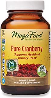 MegaFood, Pure Cranberry, 60 Capsules, Supports Urinary Tract and Immune Health, Whole Food Supplement, Gluten Free, Vegan...