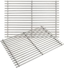 gas grill with stainless steel grates and burners