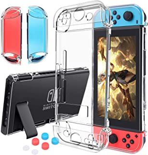 Case Compatible with Nintendo Switch,Case Updated Version Dockable and Scratch Free Ultra Slim Protective Cover Case with ...