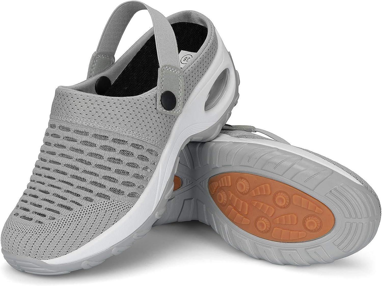 Mishansha Sabots Femmes Respirant Antid/érapant Chaussures de Jardin Mules GR.36-42 EU