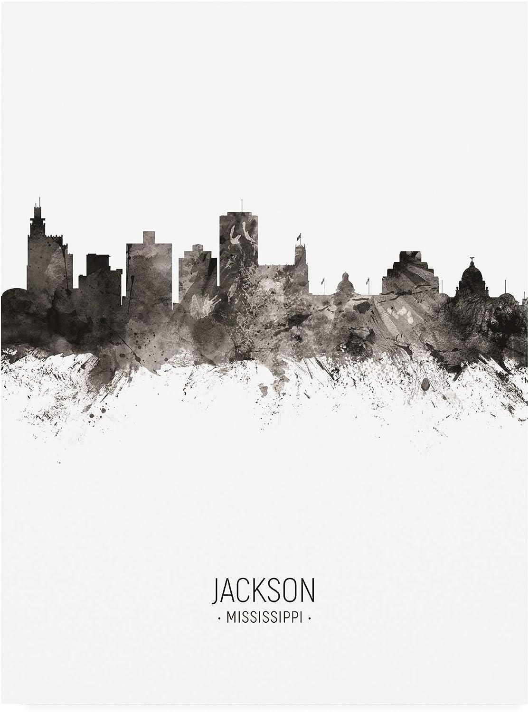 Trademark Fine Art Jackson Mississippi II Portrait Large discharge Ranking TOP14 sale by Mi Skyline