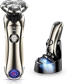 Shaver, MOOSOO Electric Razor with Sterilization Clean...