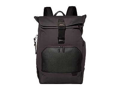 Tumi Harrison Osborn Roll Top Backpack (Reflective Iron) Backpack Bags