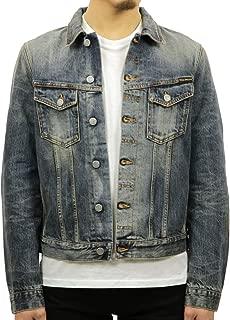 [ヌーディージーンズ] Nudie Jeans 正規販売店 メンズ アウター デニムジャケット BILLY DRY SELVEDGE DENIM JACKET DENIM B26 160551 5025 (コード:4126326201)