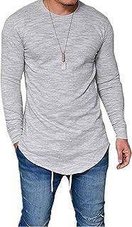 Mai Poetry Mens Hipster Hip Hop Short Sleeve Longline Pullover Side Zipper Hoodies Fashion Sweatshirts