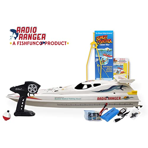 """Radio Ranger ll 34"""" Remote Control Fishing Boat Upgraded 2.4Ghz Remote System"""