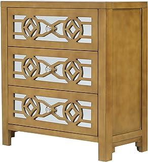 Amazon Com Gold Storage Cabinets Accent Furniture Home Kitchen