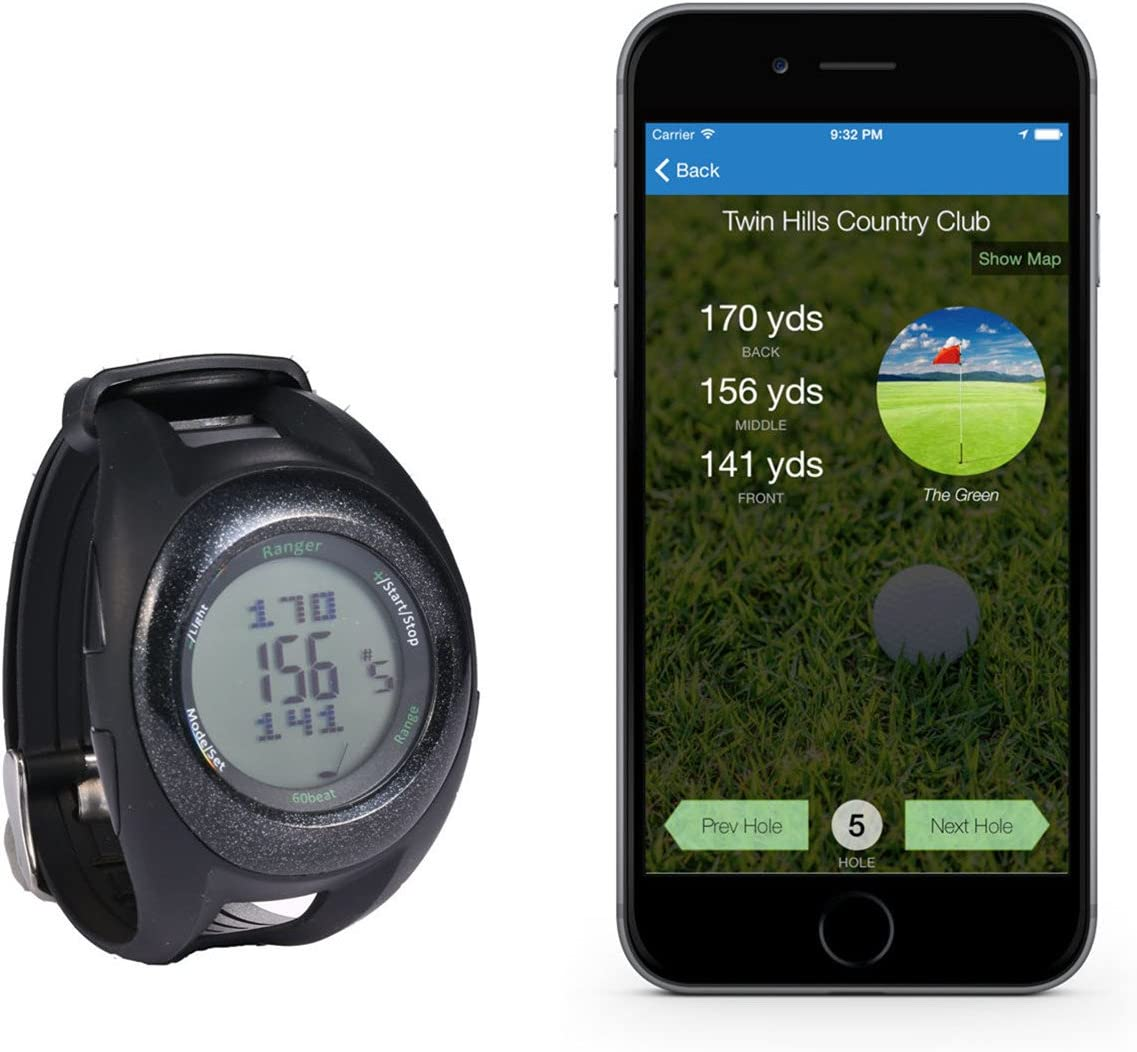 Courier shipping free shipping 60beat Super beauty product restock quality top Ranger GPS Watch Golf