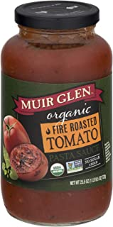Muir Glen Organic Fire Roasted Tomato Pasta Sauce, 25.5 Ounce - 12 per case.
