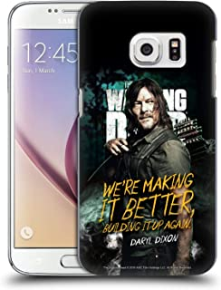Official AMC The Walking Dead Daryl Season 9 Quotes Hard Back Case Compatible for Samsung Galaxy S7