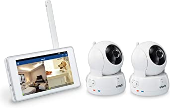 VTech VC9312-245 Wi-Fi IP Camera with 720p HD, Remote Pan & Tilt, Free Live Streaming, Automatic Infrared Night Vision & 5