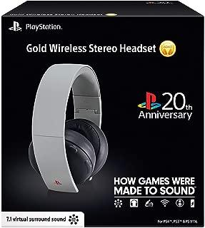 gold headset 20th anniversary