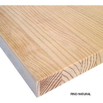 Choisissez des Mesures: Bricolage sans Vernis Naturel Planche Bois Massif Brut Pour Tables Meubles Pin 21 x 30 x 1,8 cm