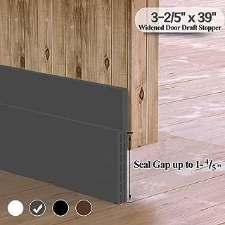 [Widened Door Sweep] Large Gap Door Draft Stopper, 3-2/5