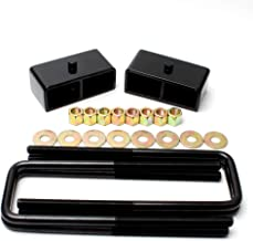 Raise Your Vehicle 3 Front Leveling Lift Kit Black fit Toyota Tacoma 1995-2018 SCITOO Lift Blocks