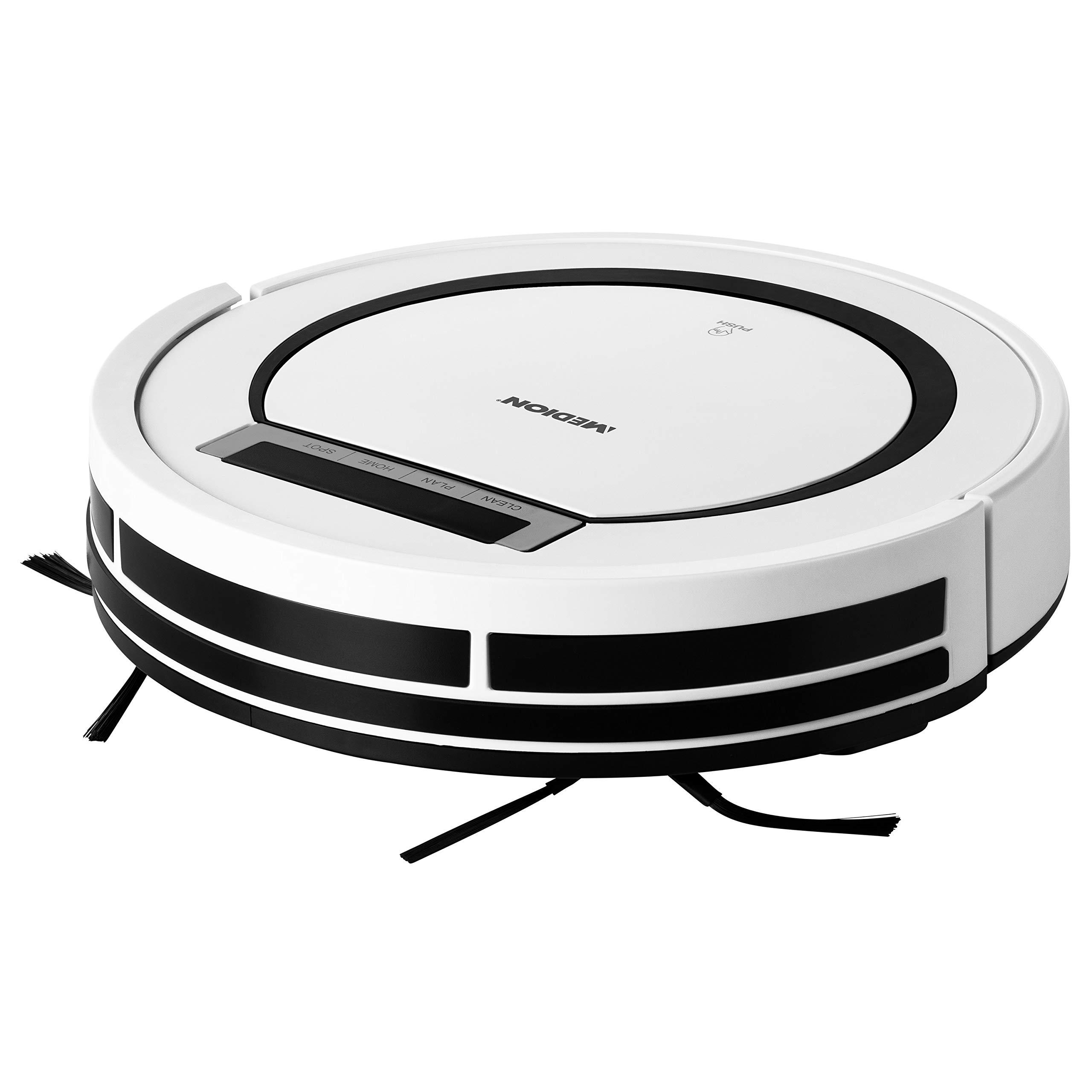 MEDION MD 18600 aspiradora robotizada Sin bolsa Blanco 0,3 L ...
