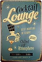 +Urbano Cocktail Lounge Vintage Retro Tin Sign Home Pub Bar Deco Wall Decor Poster Size 8