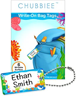 Child ID Bag Tags