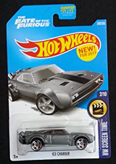 Hot Wheels 2017 HW Screen Time The Fate of the Furious Ice Charger 266/365, Gray