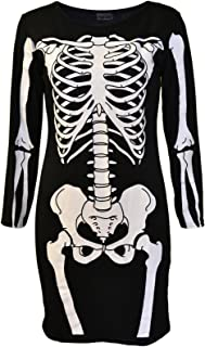 Noroze Loungewear super morbido con squalo scheletro tutina unisex per bambini per Halloween