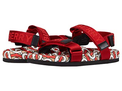 Burberry Kids Redmire Mono Sandal (Toddler/Little Kid) (Bright Red) Kid