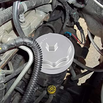Amazon.com: Danti Aluminum Fuel Filter Housing Cap Cover For 2010-2017 Dodge  Ram 2500 3500 4500 5500 6.7L Cummins Diesel engine: AutomotiveAmazon.com