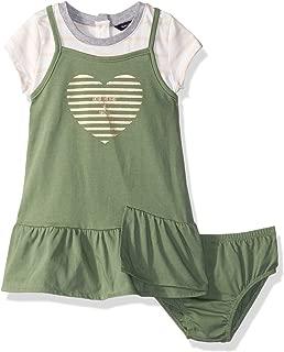 Girls Short Sleeve Fashion Dress,