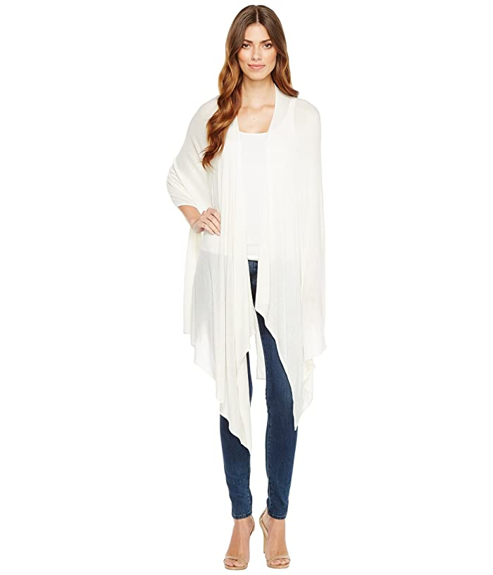 Echo New York  Bamboo Ruana (Cream) Scarves