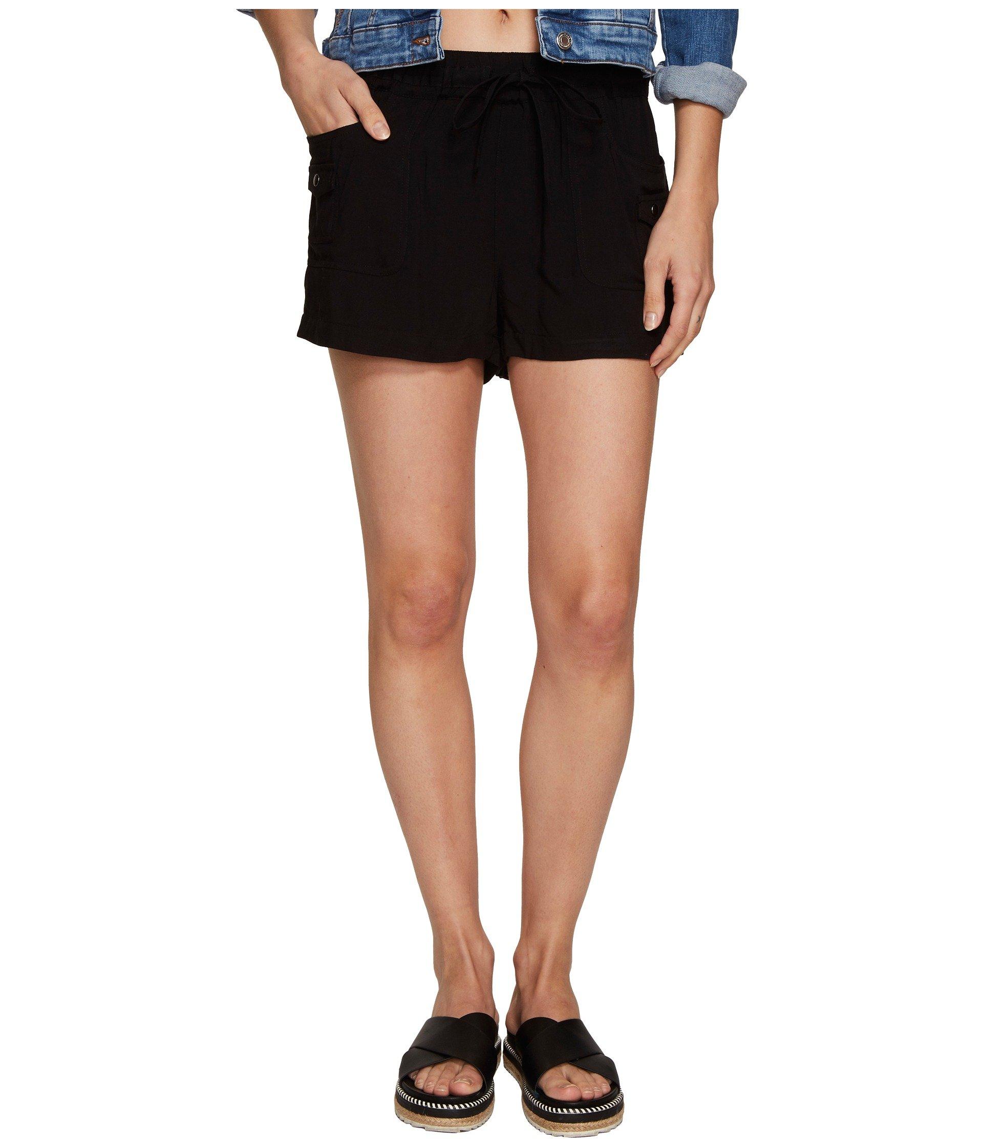 Mosby Rayon Twill Cargo Shorts