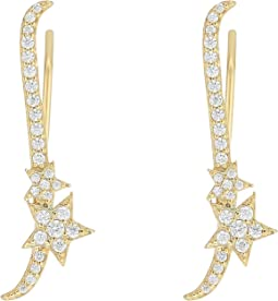 Shooting Star Ear Climbers Earrings