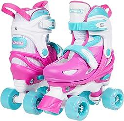 Pink Adjustable Quad (Toddler/Little Kid/Big Kid)