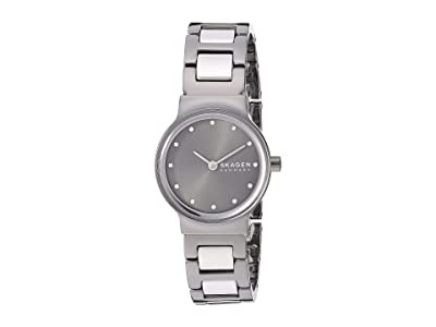 Skagen Freja Two-Hand Watch (SKW2831 Gunmetal Silver Stainless Steel) Watches