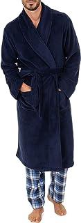 Men's Comfort Poly Suede Robe