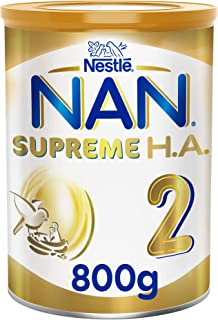 Nestle NAN SUPREME H.A. Stage 2, 6 to 12 months, Hypoallergenic Follow-up Formula 800g