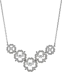 Medium Sparkling Dance Flower Necklace