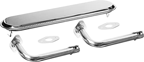 Music City Metals 19002-76452 Stainless Steel Burner Replacement for Gas Grill Models Broil-Mate 24025BMT and Broil-Mate 24025HNT