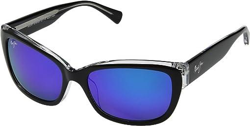 Black/Crystal/Blue Hawaii