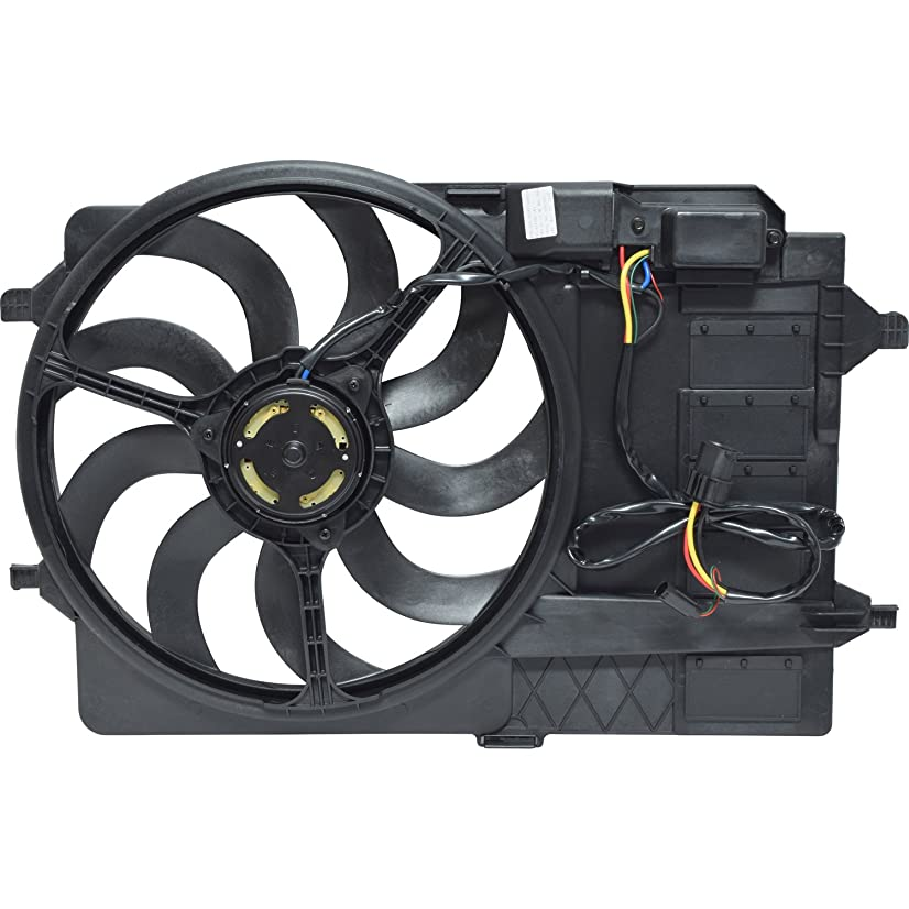 UAC FA 50412C Dual Radiator and Condenser Fan Assembly