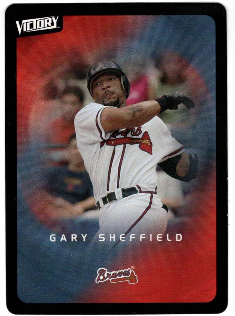 Gary Sheffield - Atlanta Braves Upper Card Deck 2003 Baseball Ranking Under blast sales integrated 1st place