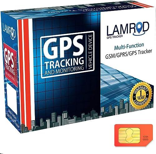 LAMROD Supreme Car/Bike Google Link GT02A GPS Tracker with Mobile Application Subscription