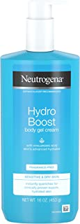 Neutrogena Hydro Boost Fragrance-free Hydrating Body Gel Cream, 16 Ounce