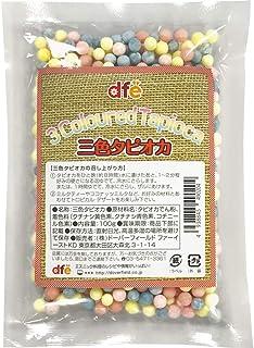 dfe 三色タピオカ(ピンク、青、黄色) 100g