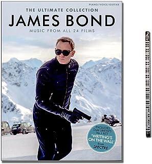 James Bond: The Ultimate Collection - Music From All 24 Films geregeld voor piano, keyboard, gitaar en zang [muzieknoten -...
